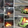 Lamborghini Murcielago LP640 Burn Out