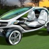Green Motor | Mercedes Showcases Solar-Powered Golf Cart Concept 'Vision'