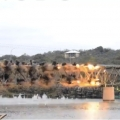 Slow Motion | The Art of Demolition: US-281 bridge in Texas implodes .. #VIDEO