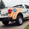 Ford F-150 running on Compressed Natural Gas – 750 miles on one tank of gas