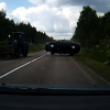 Scary Dashcam Video | Russian Man saves family, steers car on time to avoid another rolling car #VIDEO