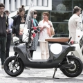 Green Motor  Be.e Electric Scooter made from Compressed Plants #Video