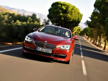 The all new BMW 6 series Coupe