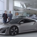 [VIDEO] The Acura NSX can break your primitive worship