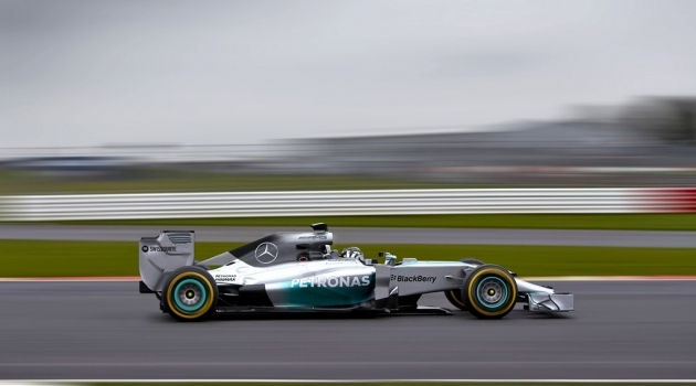 Mercedes AMG Reveals W05 Formula One 2014 Race Car