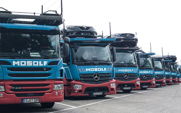 Mosolf E-Trucks: Production in Herne